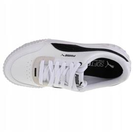 Buty Puma Carina Lift W 373031 02 białe czarne 2
