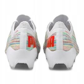 Buty piłkarskie Puma Ultra 1.2 Fg / Ag M 106299-04 wielokolorowe białe 1