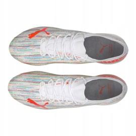 Buty piłkarskie Puma Ultra 1.2 Fg / Ag M 106299-04 wielokolorowe białe 2
