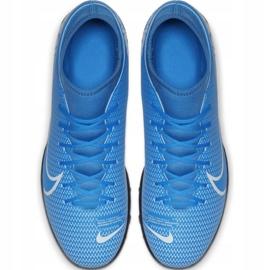 Buty piłkarskie Nike Mercurial Superfly 7 Club Tf Jr AT8156 414 wielokolorowe niebieskie 1