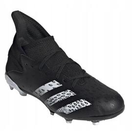Buty piłkarskie adidas Predator Freak .3 Fg Jr FY1031 wielokolorowe czarne 2