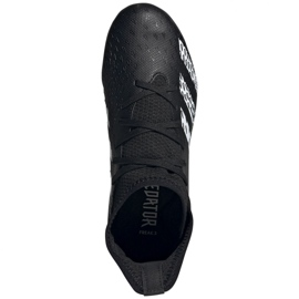 Buty piłkarskie adidas Predator Freak .3 Fg Jr FY1031 wielokolorowe czarne 3