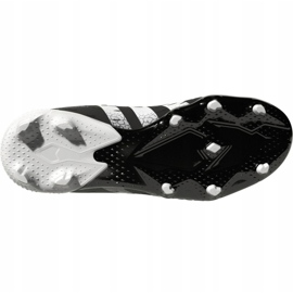 Buty piłkarskie adidas Predator Freak .3 Fg Jr FY1031 wielokolorowe czarne 4