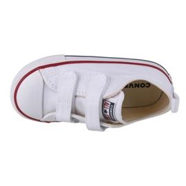 Buty Converse Chuck Taylor All Star 2V Ox Jr 769029C białe granatowe 2