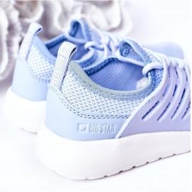 Dziecięce Sportowe Buty Sneakersy Big Star HH374214 Jasnoniebieskie 1