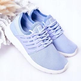 Dziecięce Sportowe Buty Sneakersy Big Star HH374214 Jasnoniebieskie 2