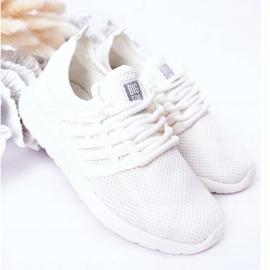 Dziecięce Sportowe Buty Sneakersy Big Star HH374215 Białe 2