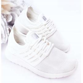 Dziecięce Sportowe Buty Sneakersy Big Star HH374215 Białe 4