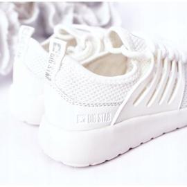 Dziecięce Sportowe Buty Sneakersy Big Star HH374215 Białe 1