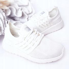 Dziecięce Sportowe Buty Sneakersy Big Star HH374215 Białe 5