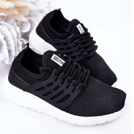 Dziecięce Sportowe Buty Sneakersy Big Star HH374216 Czarne 1