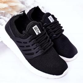 Dziecięce Sportowe Buty Sneakersy Big Star HH374216 Czarne 2