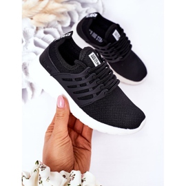 Dziecięce Sportowe Buty Sneakersy Big Star HH374216 Czarne 3
