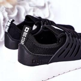 Dziecięce Sportowe Buty Sneakersy Big Star HH374216 Czarne 4