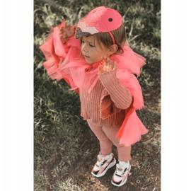 Dziecięce Sportowe Buty Sneakersy Neonowy Róż Game Time białe czarne różowe 2