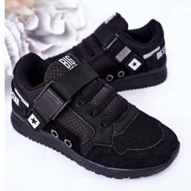 Dziecięce Sportowe Buty Memory Foam Big Star HH374164 Czarne 6