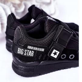 Dziecięce Sportowe Buty Memory Foam Big Star HH374164 Czarne 1