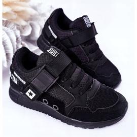 Dziecięce Sportowe Buty Memory Foam Big Star HH374164 Czarne 4
