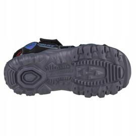 Sandały Skechers Damager III-Sand Patrol Jr 400073L-BKRB czarne niebieskie 4