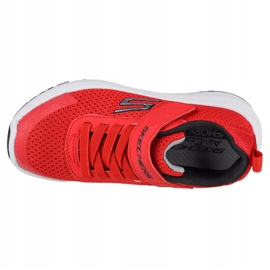 Buty Skechers Dynamic Tread Jr 98151L-RDBK czerwone niebieskie 2