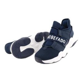 Befado obuwie młodzieżowe  516Q065 granatowe 3
