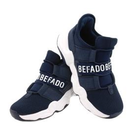 Befado obuwie młodzieżowe  516Q065 granatowe 4