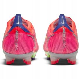 Buty piłkarskie Nike Mercurial Vapor 14 Elite Fg M CQ7635 600 czerwone 4