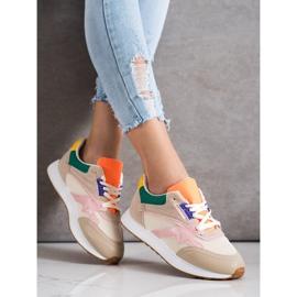 SHELOVET Kolorowe Buty Sportowe wielokolorowe 1