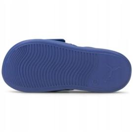 Sandały Puma Popcat 20 Backstrap Jr 380555 06 niebieskie 2