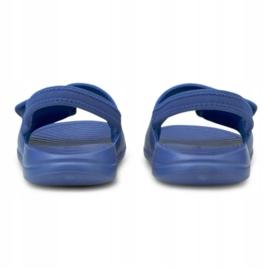 Sandały Puma Popcat 20 Backstrap Jr 380555 06 niebieskie 4