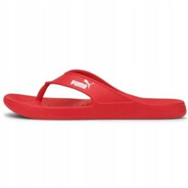 Klapki Puma Aqua Flip Poppy 375098 03 czerwone 1