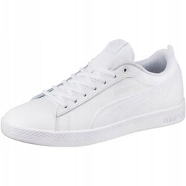 Buty Puma Smash Wns v2 L W 365208 04 białe 2