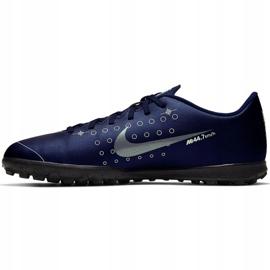 Buty piłkarskie Nike Mercurial Vapor 13 Club Mds Tf M CJ1305-401 granatowe 2