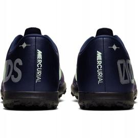 Buty piłkarskie Nike Mercurial Vapor 13 Club Mds Tf M CJ1305-401 granatowe 4
