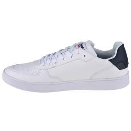 Buty Tommy Hilfiger Jeans Reflective Basket W EN0EN01348-OGY białe granatowe 1