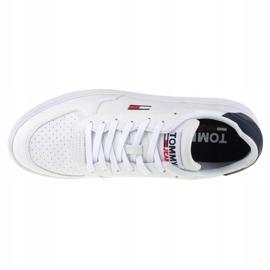 Buty Tommy Hilfiger Jeans Reflective Basket W EN0EN01348-OGY białe granatowe 2