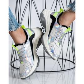Goodin Ażurowe Sneakersy Ze Skóry wielokolorowe 2