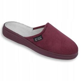 Befado obuwie damskie  pu 132D011 czerwone 1