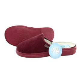 Befado obuwie damskie  pu 132D011 czerwone 4