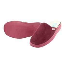 Befado obuwie damskie  pu 132D011 czerwone 3