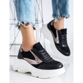 Seastar Sneakersy Fashion czarne 1