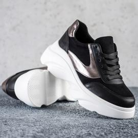 Seastar Sneakersy Fashion czarne 3