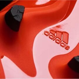 Buty piłkarskie adidas Nemeziz 17.3 Fg Jr S82428 pomarańczowe pomarańczowe 3