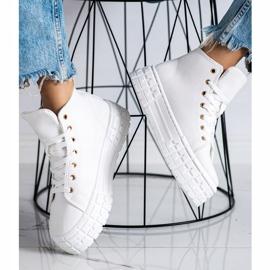 Goodin Wysokie Trampki Fashion białe 2