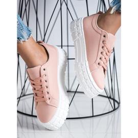 Goodin Różowe Trampki Fashion Shoes 3