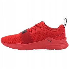 Buty Puma Wired Run Jr 374216 05 czerwone 1