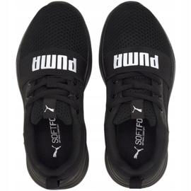 Buty Puma Wired Run Jr 374216 01 czarne 3