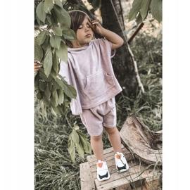 Dziecięce Sportowe Buty Sneakersy Czarno-Fioletowe Game Time białe czarne 6