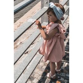 FR1 Dziecięce Błyszczące Sandały Srebrne Natalie srebrny 5