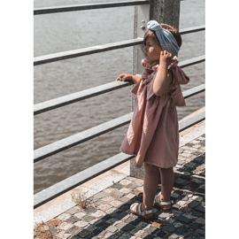 FR1 Dziecięce Błyszczące Sandały Srebrne Natalie srebrny 4
